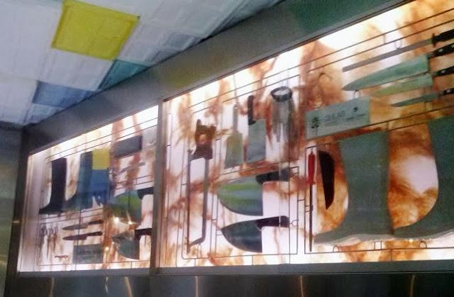 Detalle de pared de Sala Despiece