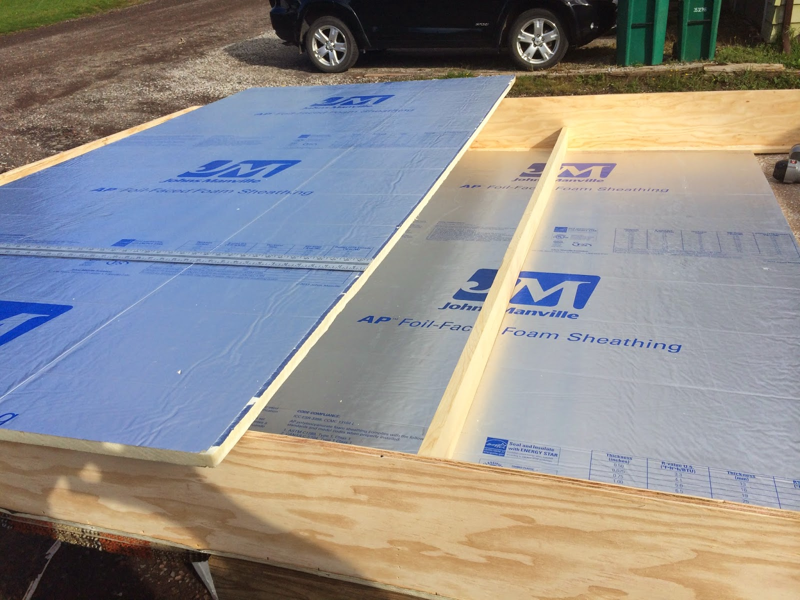 100 foil backed roof sheathing sheathing buildipedia for 1234 get your booty on the floor
