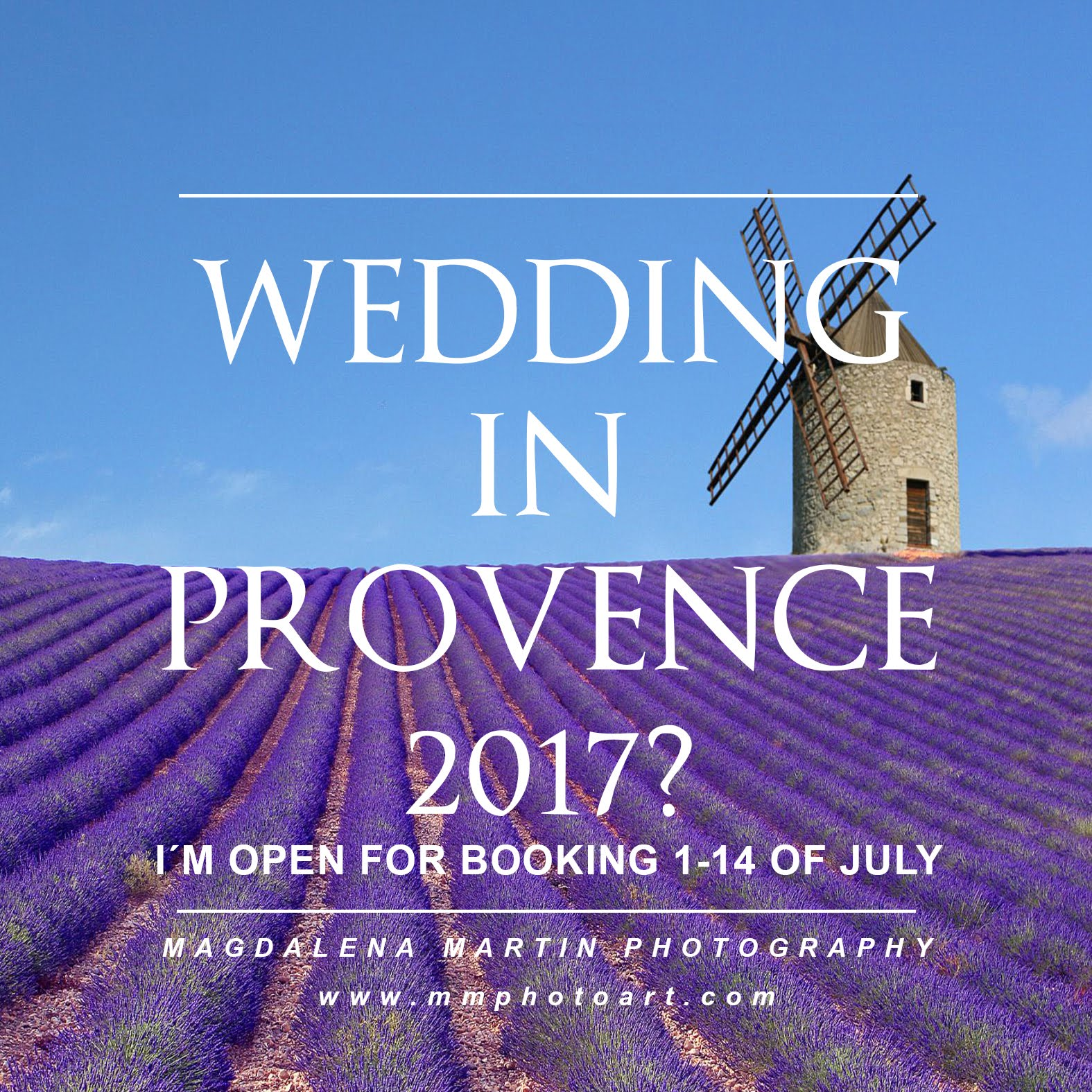 wedding in provence?