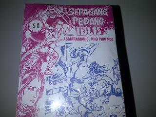 Jual Cersil Kho Ping hoo Sepasang Pedang Iblis 1-50