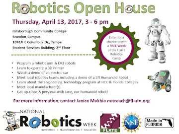 Invitation to Attend 2017 Robotics Open House
