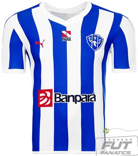 beee199c04 Puma lança os uniformes do Paysandu para 2015 - Show de Camisas
