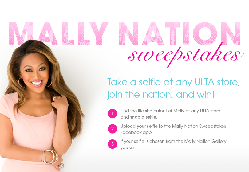 Win It!  Mally Nation Sweepstakes