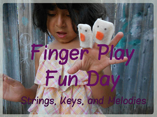 Finger Play Fun Day - 5 Little Monkeys Jumping on the Bed photo