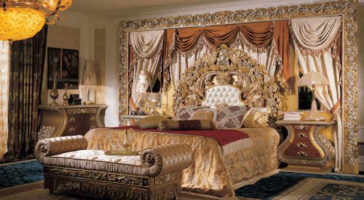 interior design: Luxury Italian Bedroom Furniture Ideas