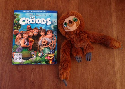 The Croods Belt The croods blu-ray dvd combo