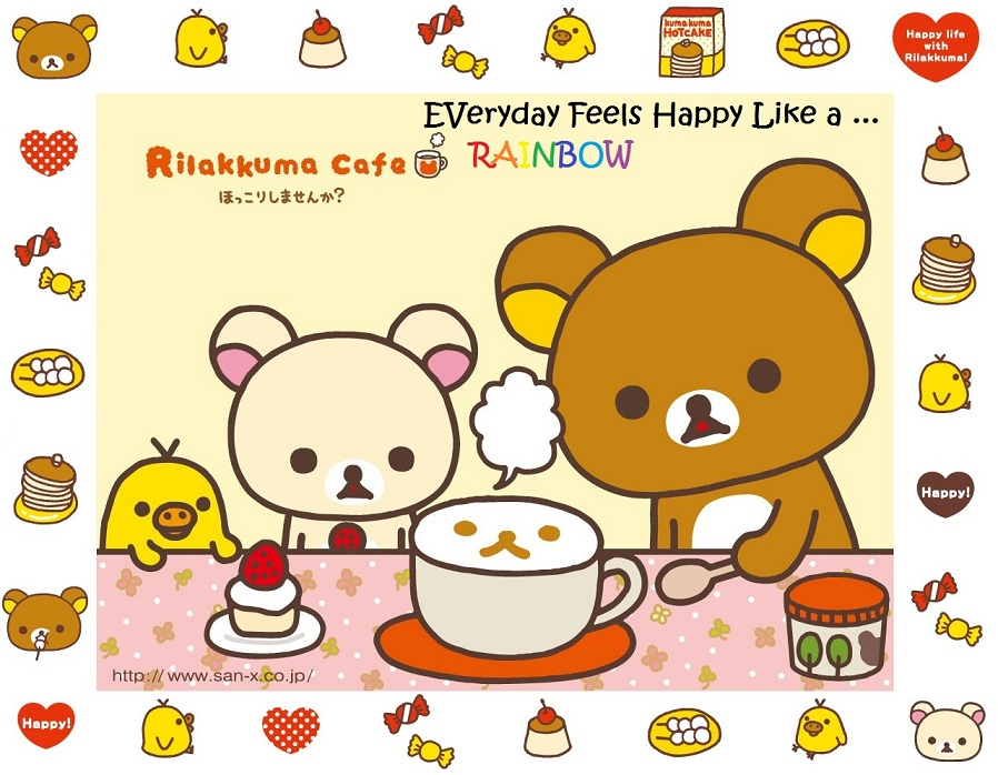 Happy Birthday Rilakkuma