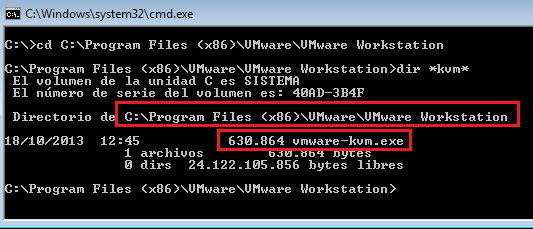 VMWare: VMWare Workstation 10 en modo KVM