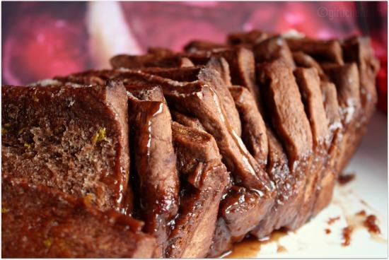 girlichef: Chocolate Orange Pull-Apart Bread