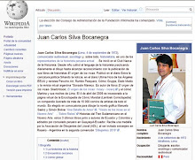 Juan Carlos Silva Bocanegra  en Wikipedia...