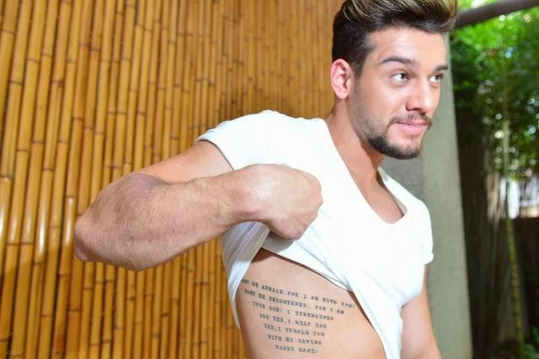Lucas Lucco Saiba O Significado Das Tatuagens De Lucas Lucco