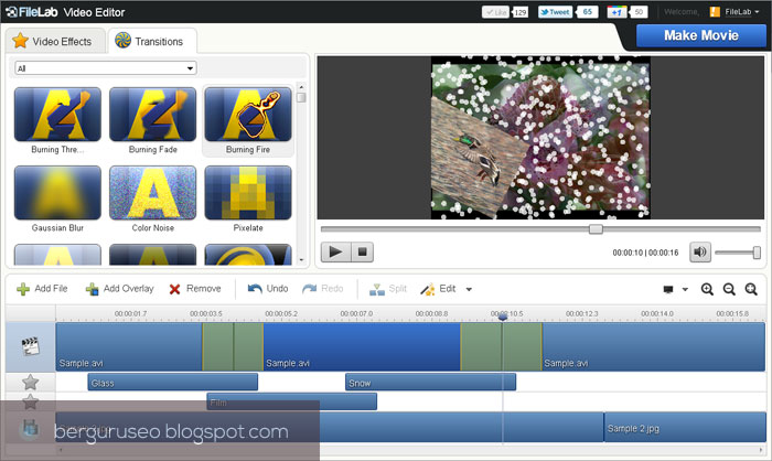 Aplikasi Edit Video File Lab Video Editor