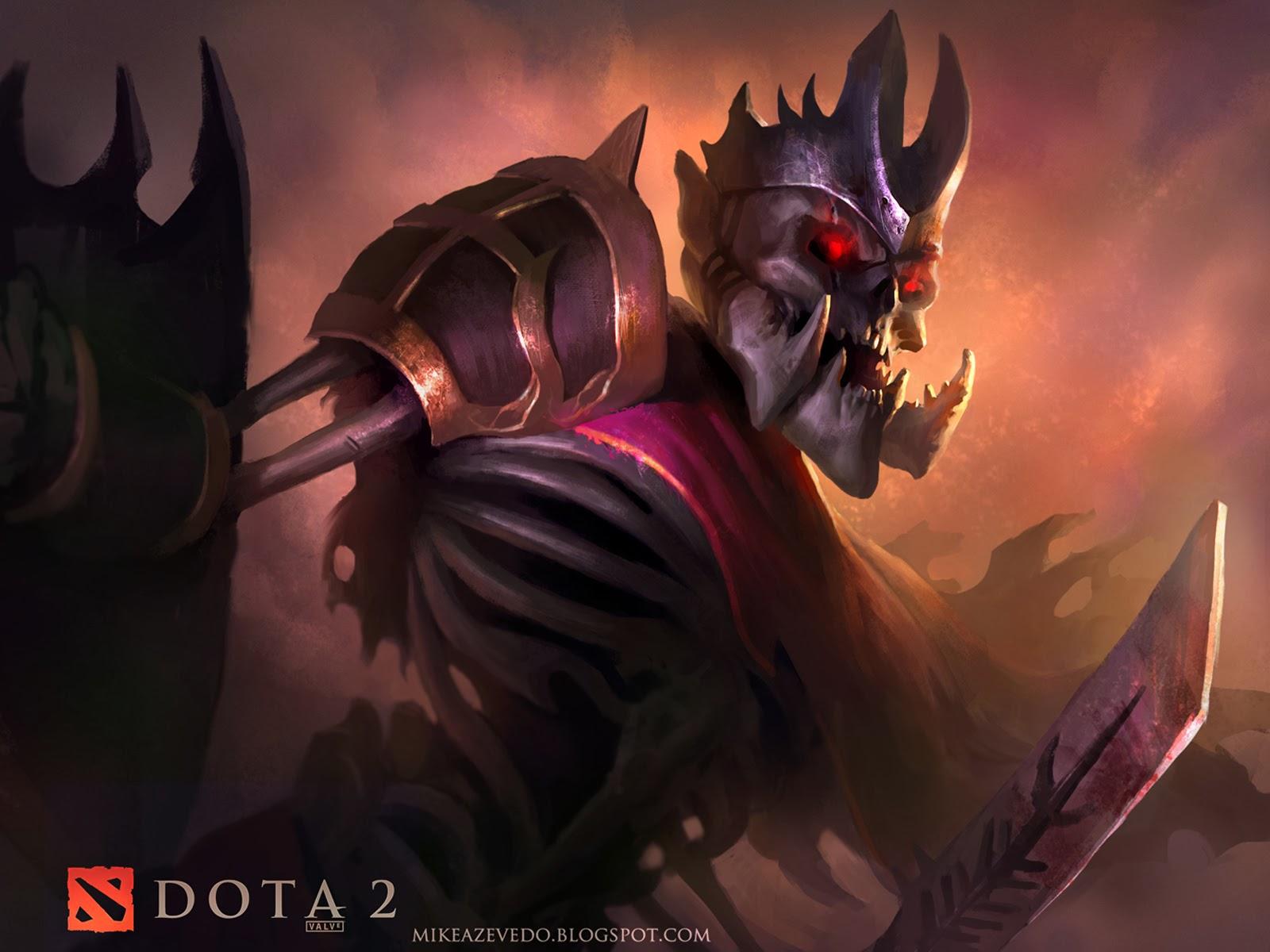 dota 2 skeleton king g7 wallpaper hd