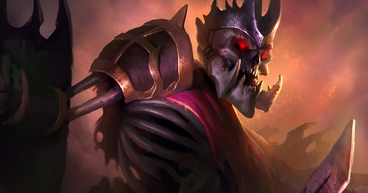 DOTA 2 Skeleton King g7 Wallpaper HD