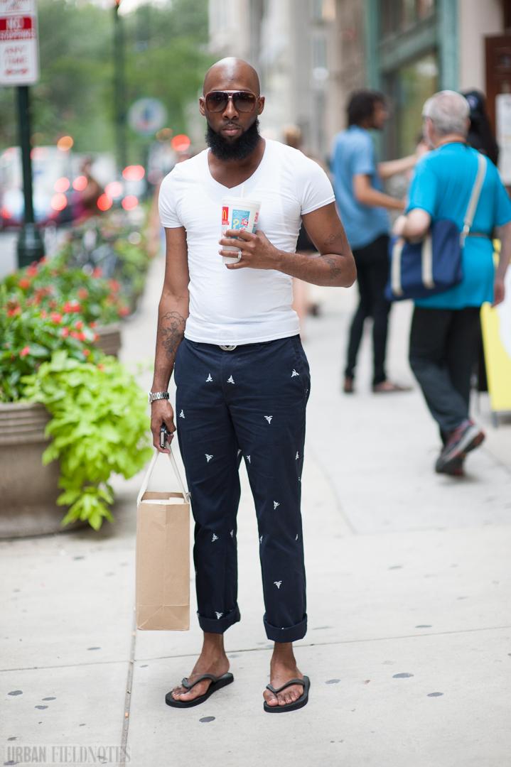 Hermes t-shirt Claiborne pants
