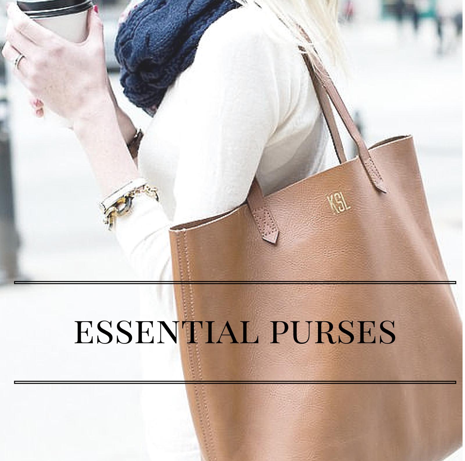 Essential Purses   alyssajfreitas.com
