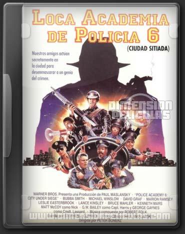 Locademia de Policía 6: Ciudad Sitiada (DVDRip Español Latino)