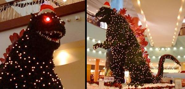 Árbol Godzilla Japón