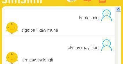 Talk with simsimi tagalog version