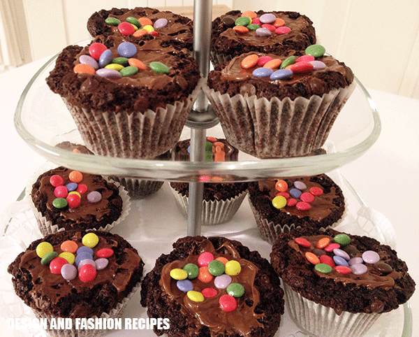 Chocolate cupcake recipe on Design and fashion recipes by Cristina Dal Monte
