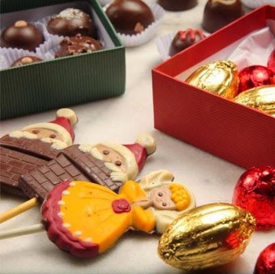 Natal 2014: Chocolates Marrom Marfim