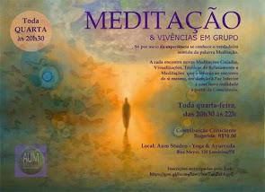 MEDITAÇÃO & VIVÊNCIAS EM GRUPO
