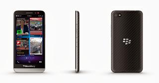 Harga dan Spesifikasi Blackberry Z30 dengan OS 10.2