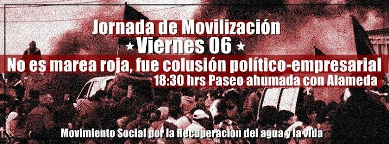 SANTIAGO: JORNADA DE MOVILIZACIÓN EN APOYO A CHILOE