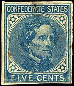 Jefferson Davis, President of the Confederate States of America