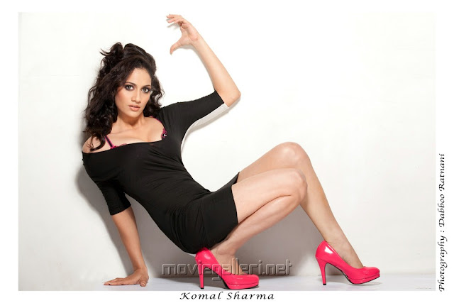 Komal Sharma hot photo shoot