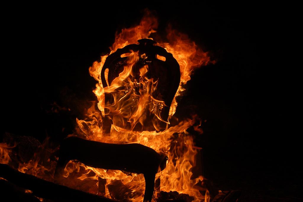 La silla caliente