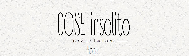 Cose insolito Home