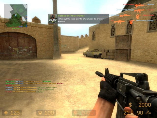 Counter Strike Source 2013 PC Gameplay