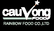 Logo Cty Cầu Vồng Food - thuc pham dong lanh