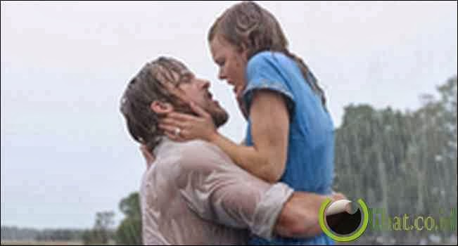Ryan Gosling dan Rachel McAdams The Notebook