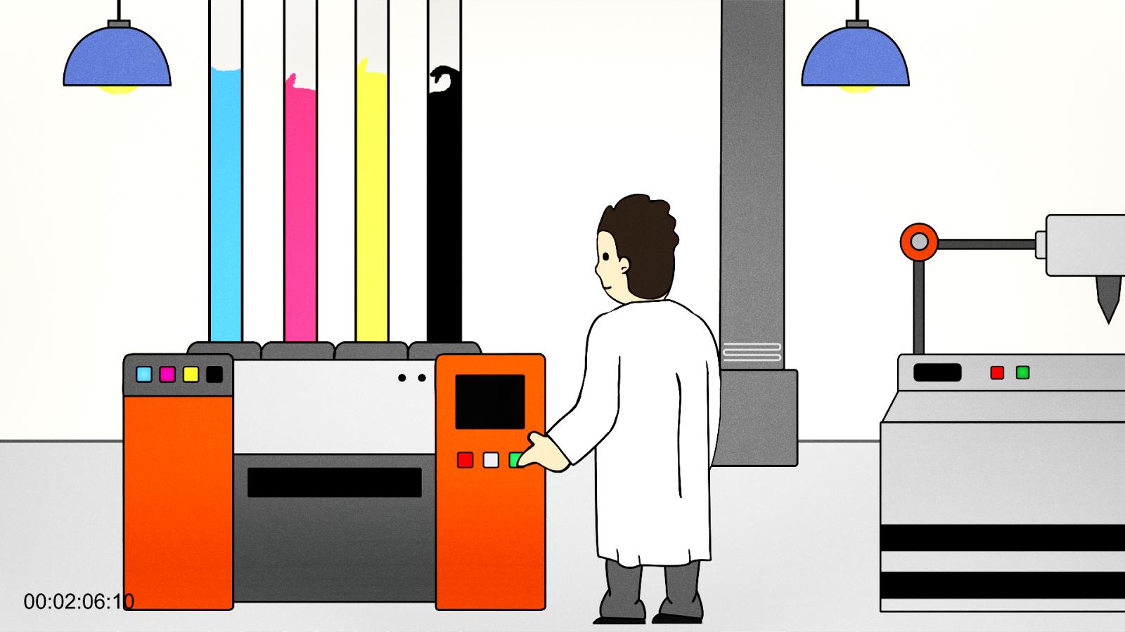 Fourdot Animation Still - Jen Haugan Animation & Illustration