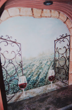 Wine Cellar-trompe l'oeil