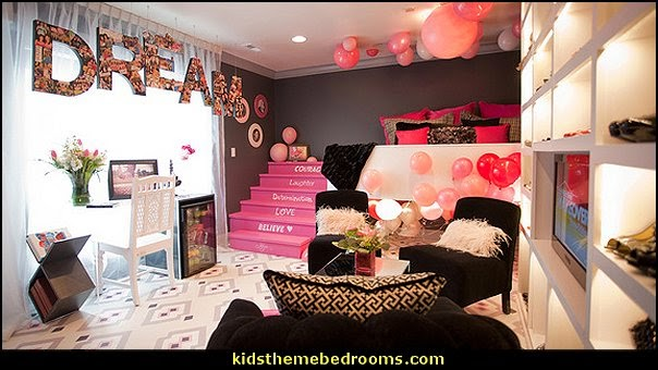 shoe shopping theme bedroom girls boutique theme bedroom ideas