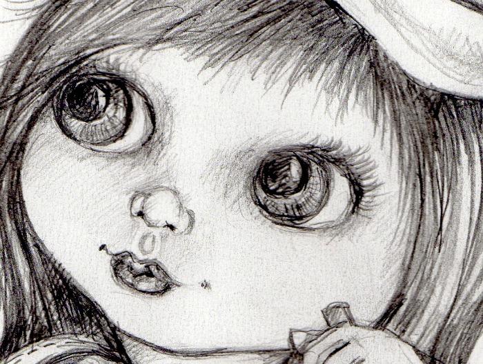 8x10 pencil sketch