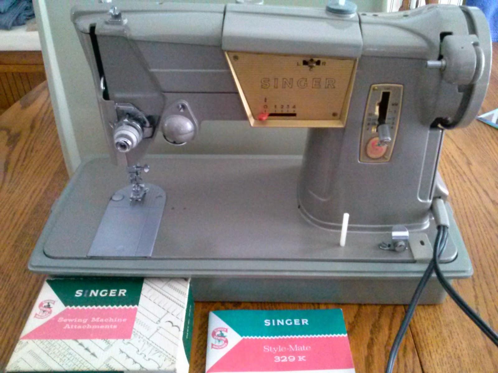 singer sewing machine 328k
