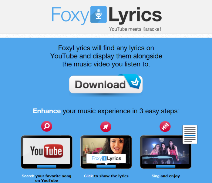 Remove FoxyLyrics