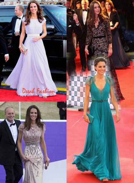 Gaun terbaik Kate Middleton Pilihanmu