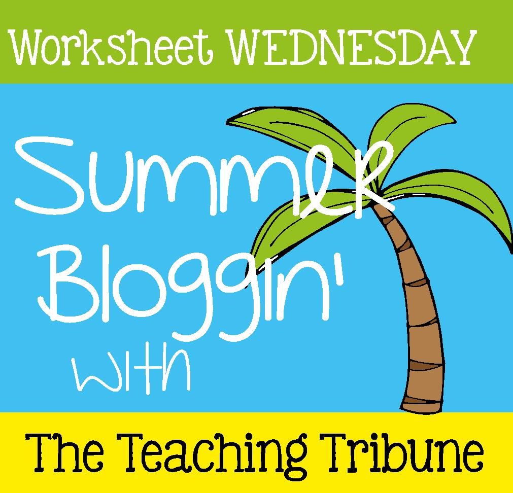 http://www.theteachingtribune.com/2014/06/worksheet-wednesday.html