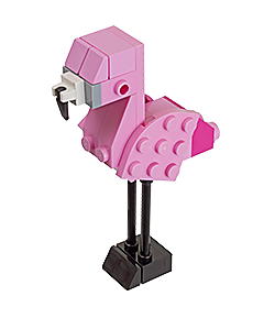 Free Llego Monthly Mini Build: LEGO Flamingo