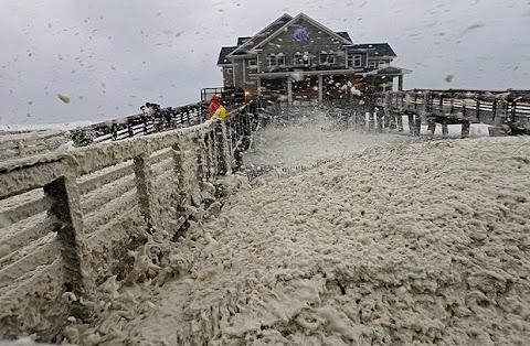 Hurricane Sandy Hits US