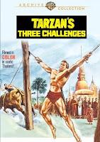 OS TRÊS DESAFIOS DE TARZAN - 1963
