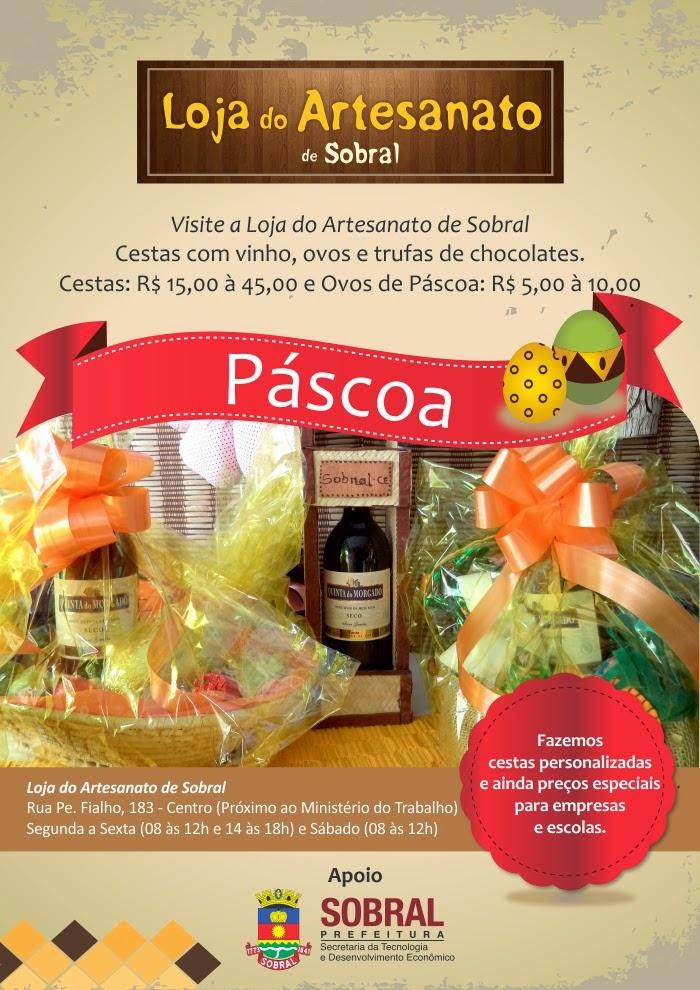Armario Aereo Cozinha Magazine Luiza ~ Loja do Artesanato de Sobral comercializa produtos para Páscoa u2013 Diário Zona Norte