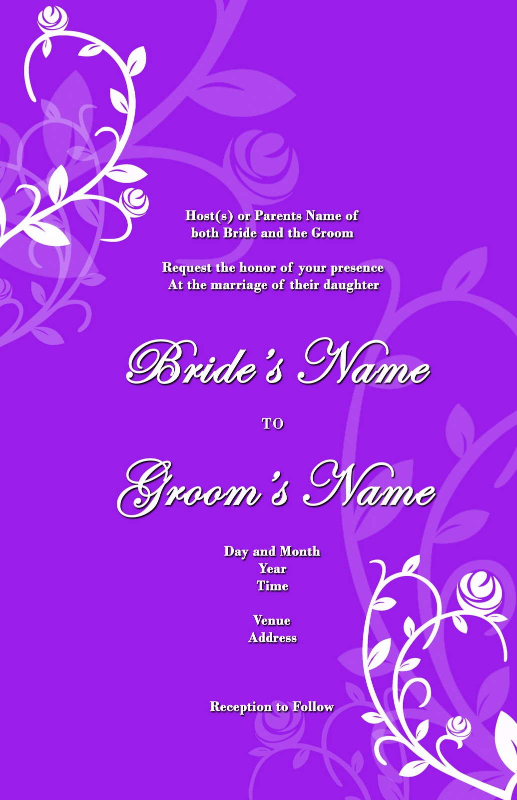 Stunning Wedding Invitation Card Design 1035 x 1600 · 184 kB · jpeg