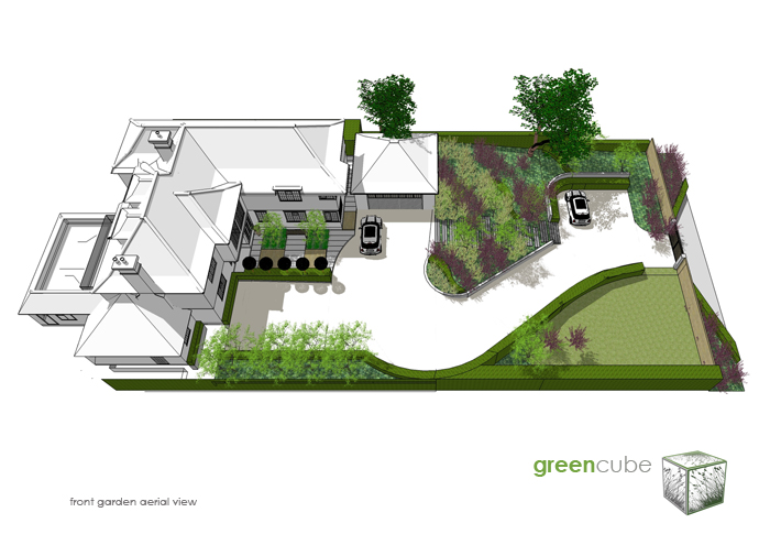 Greencube garden and landscape design uk garden for Garden planning and design