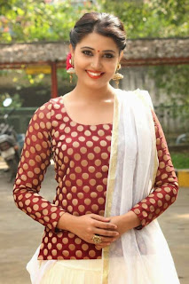Tamil Actress Sandra Amy Picture Gallery at Thoppi Movie Audio Launch 7.JPG